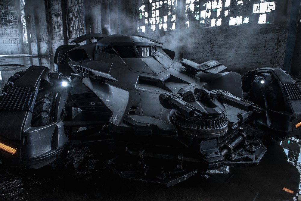 The Batmobile in BvS