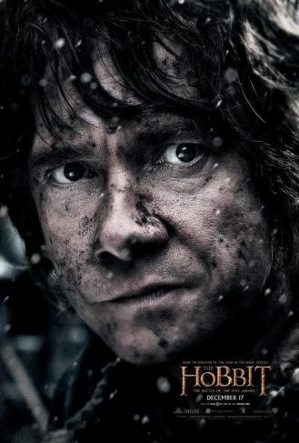 Martin Freeman as Bilbo.