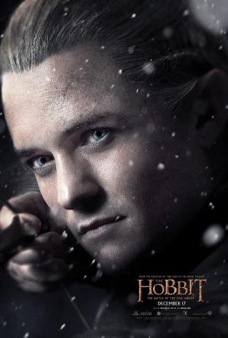 Orlando Bloom as Legolas.