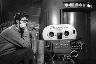George Lucas Shooting Star Wars: A New Hope