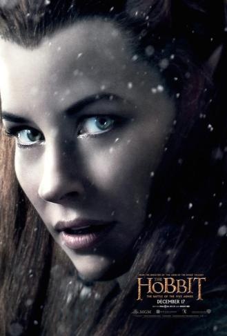Evangeline Lilly as Tauriel.