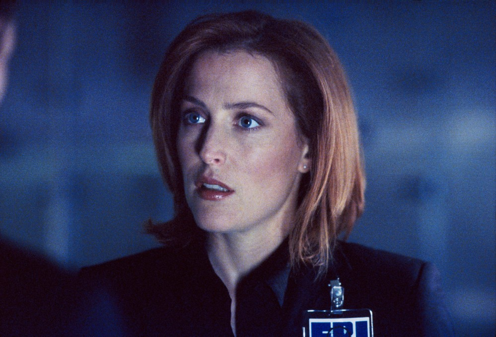 Gillian Anderson in The X-Files