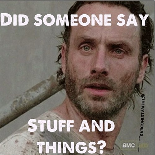 Rick loves stuff and things...