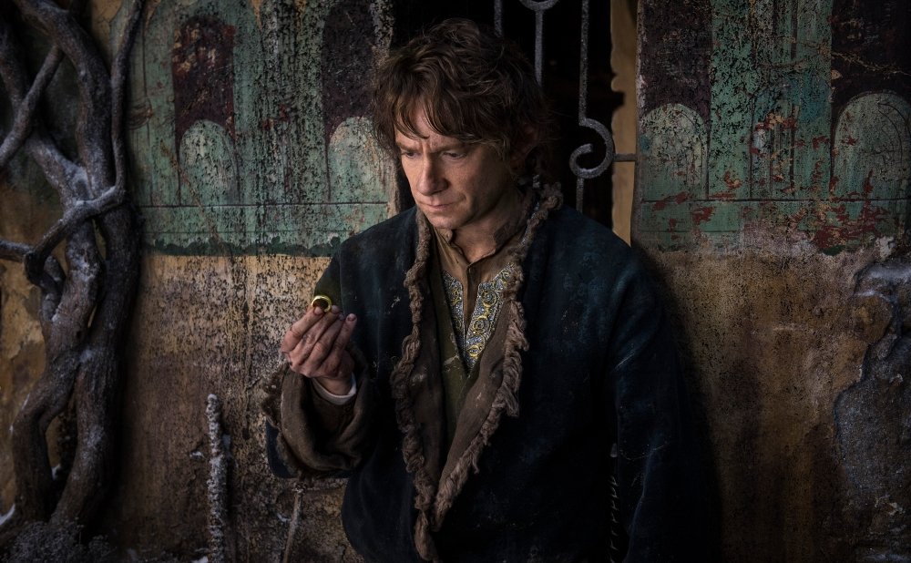 Bilbo ponders his prospects.