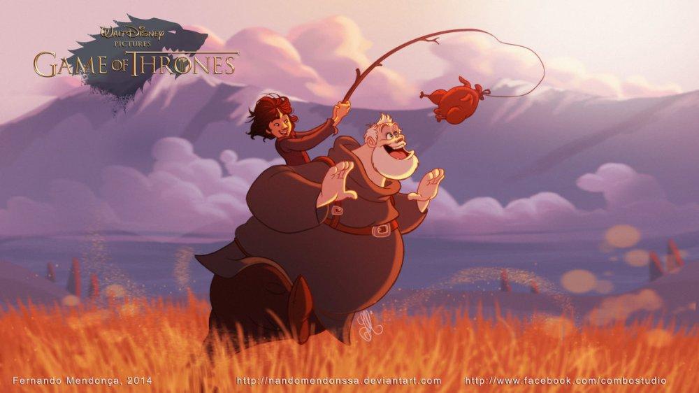 Bran and Hodor.