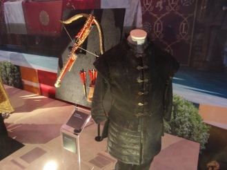 Tyrion's costume and his weapon of choice!