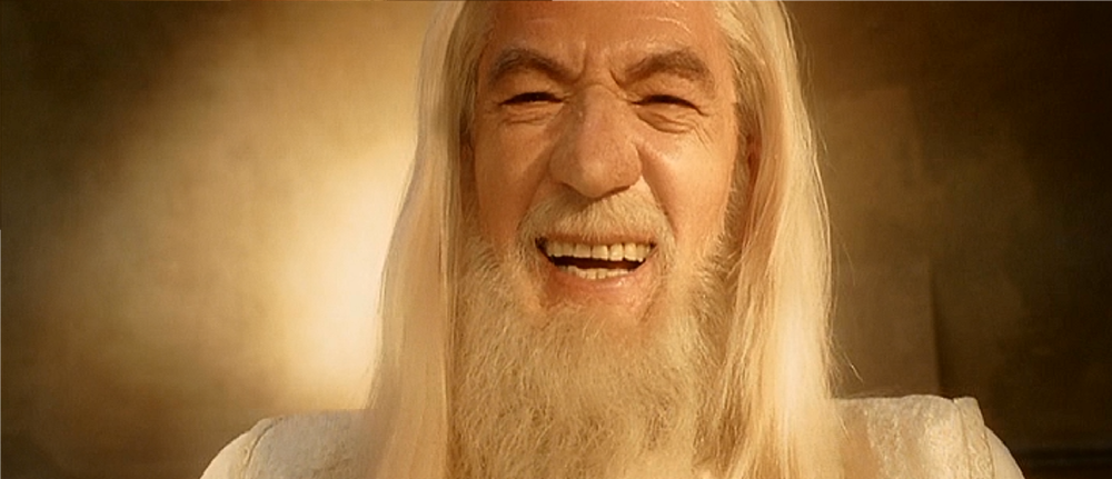 Gandalf, king of banter.