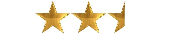 2.5 Stars