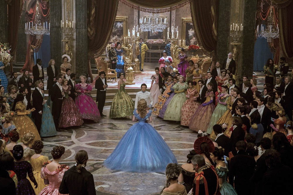 Cinderella's fantastic production design.