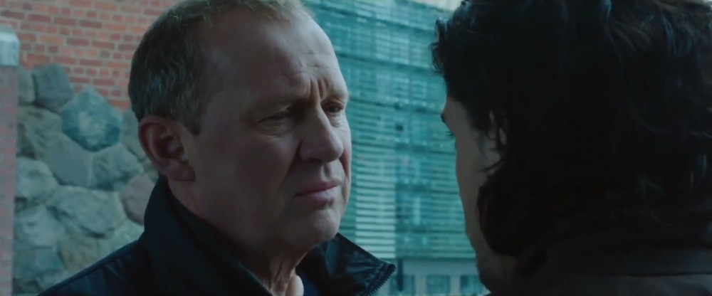 Peter Firth as Harry Pearce.