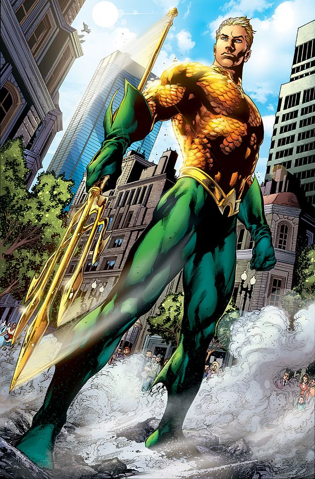 New 52 Aquaman.