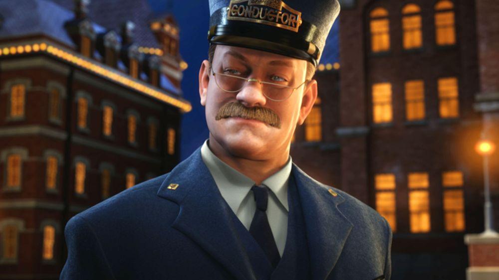 Tom Hanks in The Polar Express.
