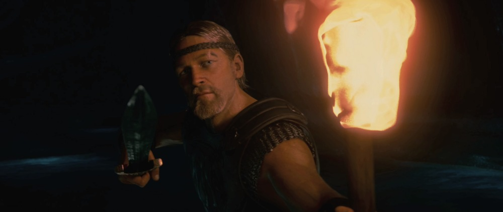 Ray Winstone in Beowulf.