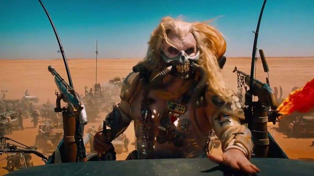 Hugh Keays-Byrne as Immortan Joe.