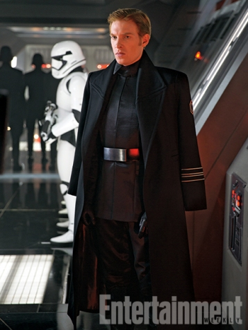Domhnall Gleeson's General Hux