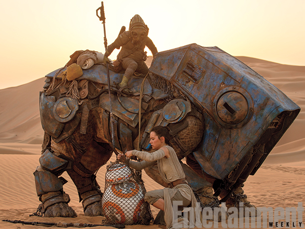 Daisy Ridley's Rey