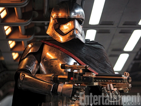 Gwendoline Christie's Captain Phasma