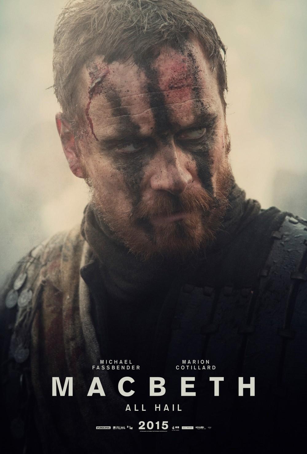 Michael Fassbender as Macbeth