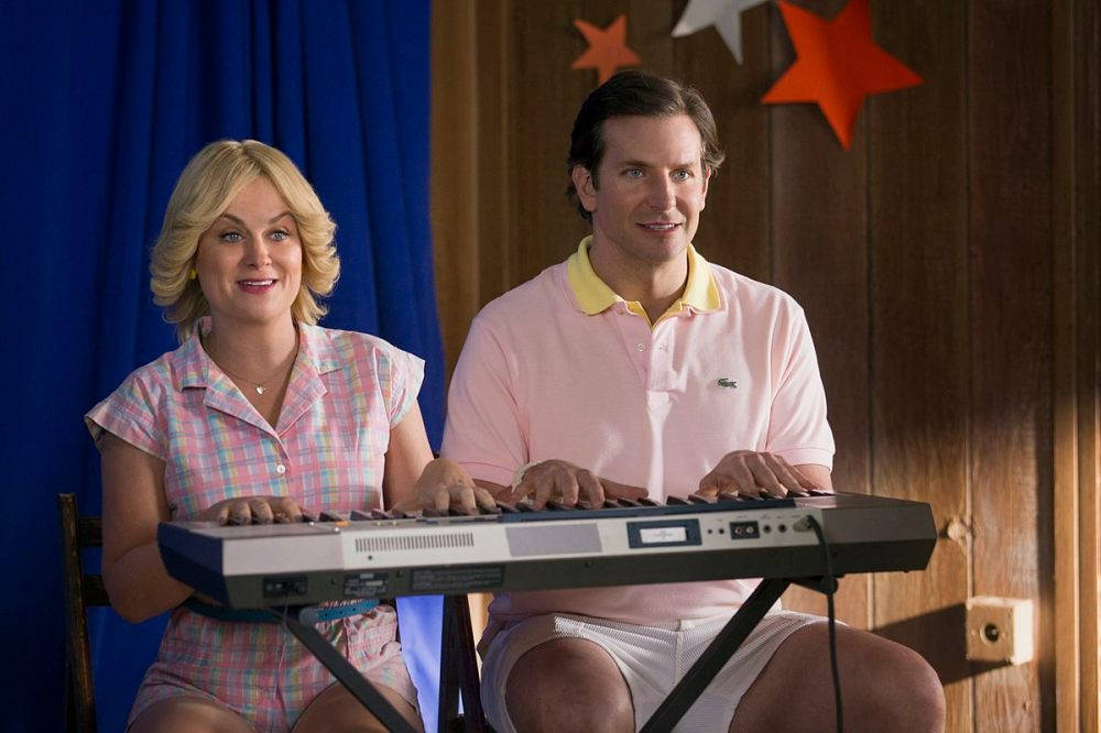 Amy Poehler as Susie and Bradley Cooper as Ben