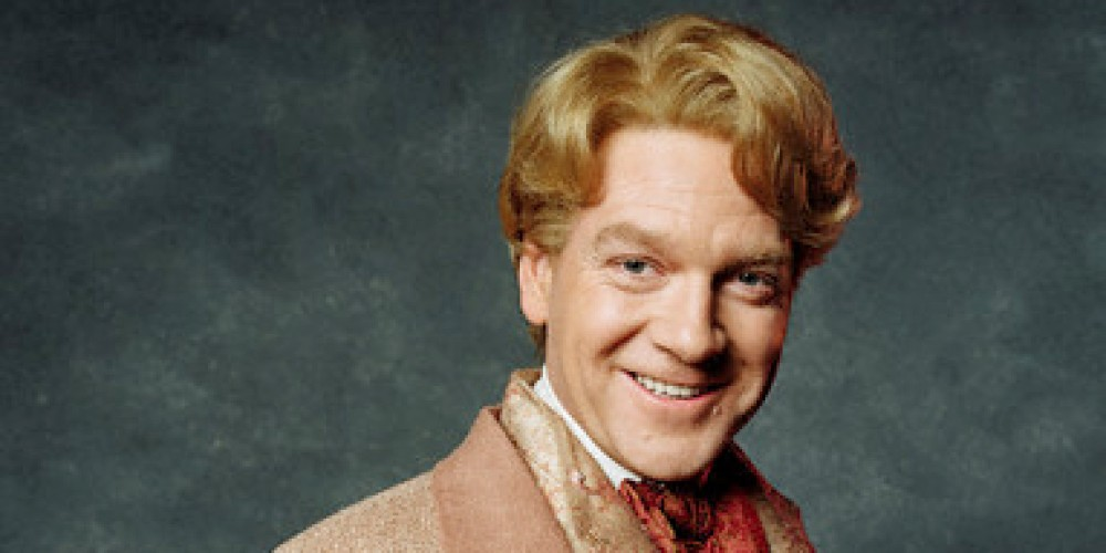 Kenneth Branagh as Professor Gilderoy Lockhart .