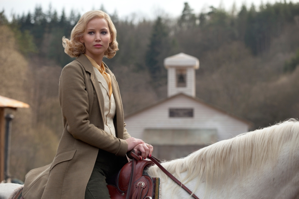 Jennifer Lawrence as Serena.