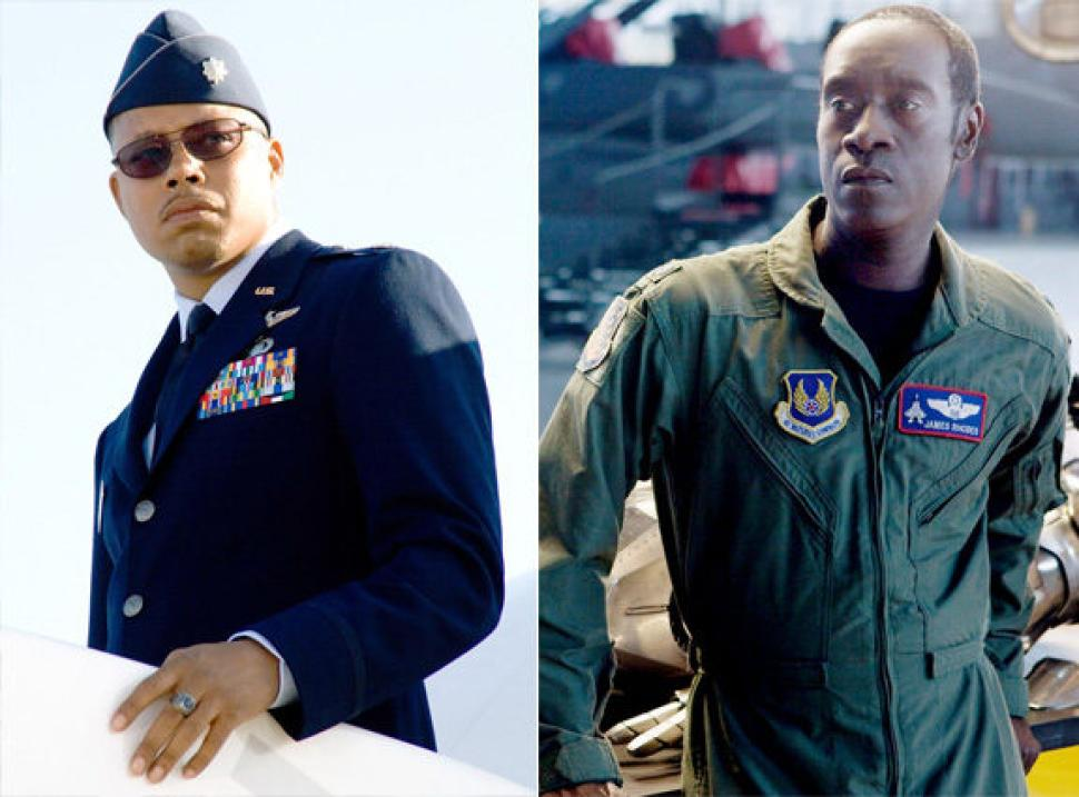 Terrence Howard and Don Cheadle played James Rhodes / War Machine in Iron Man and Iron Man 2/3 respectively.