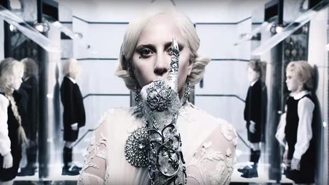 Lady Gaga as Elizabeth.