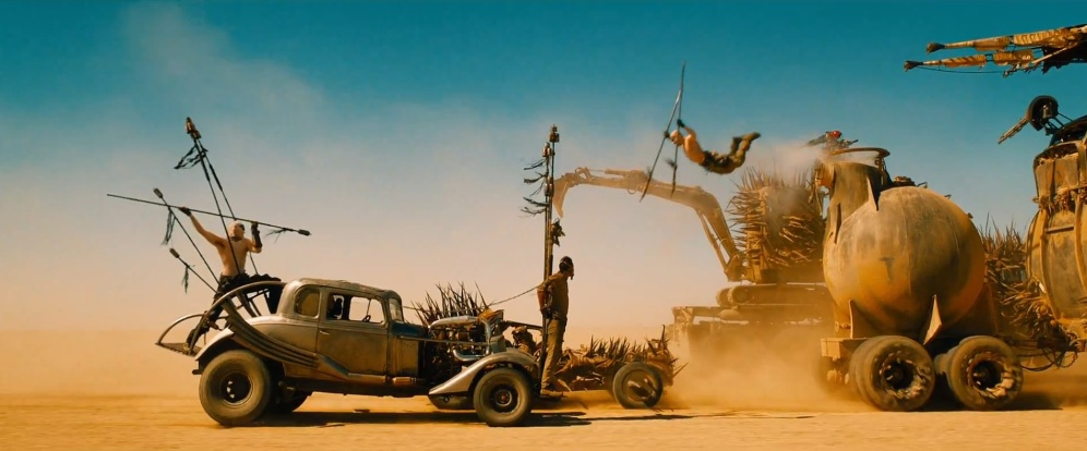 Mad Max: Fury Road, shot by John Seale.