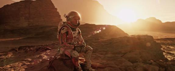 The Martian, shot by Dariusz Wolski.