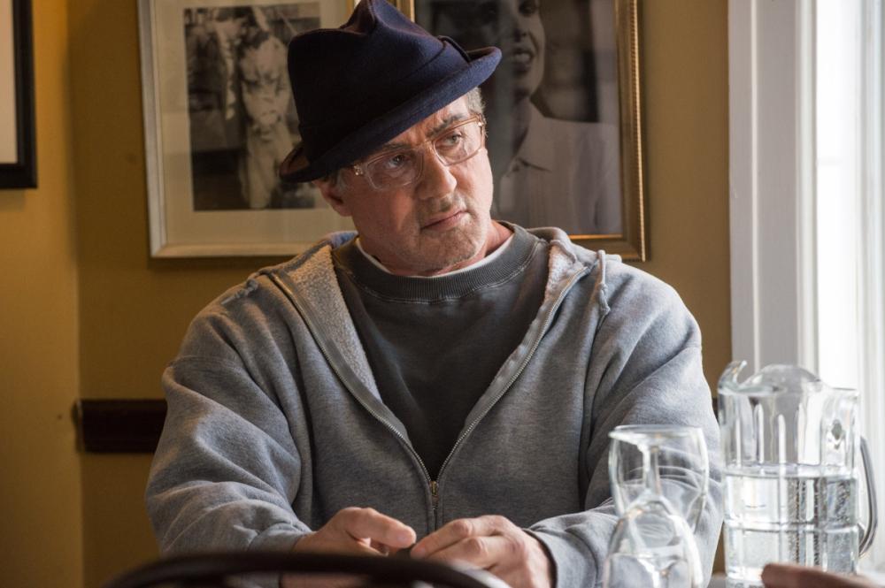 Sylvester Stallone as Rocky Balboa.