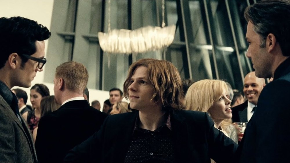 Jesse Eisenberg as Lex Luthor.