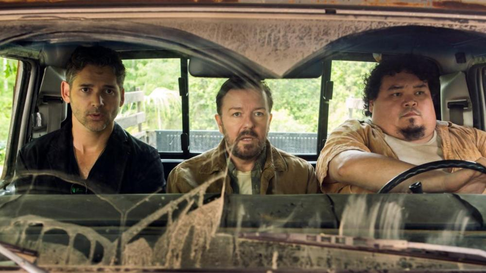 Eric Bana's Frank Bonneville and Ricky Gervais' Ian Finch.