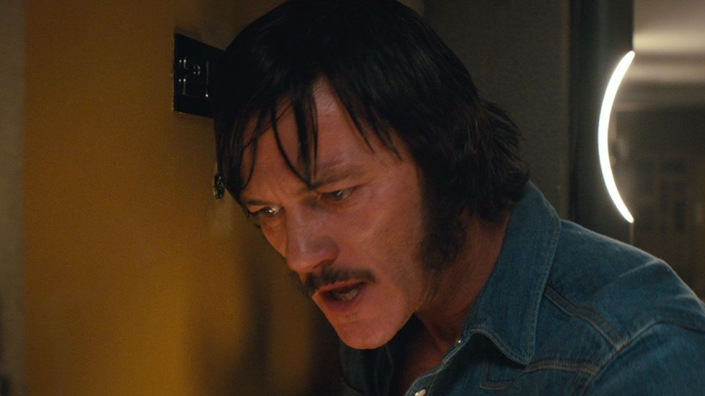 Luke Evans as Wilder.