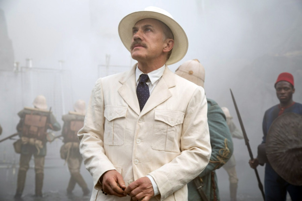 Christoph Waltz as Captain Léon Rom.