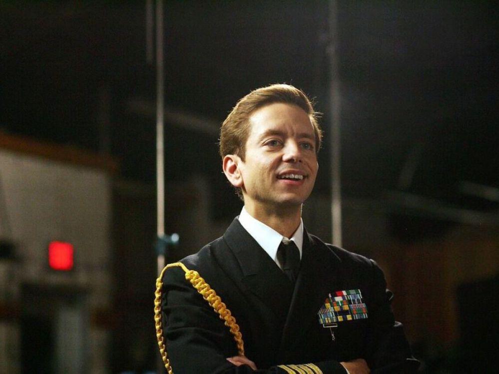 Andrew Perez as Scientology leader David Miscavige.