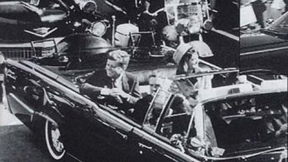The assassination of President John F. Kennedy.