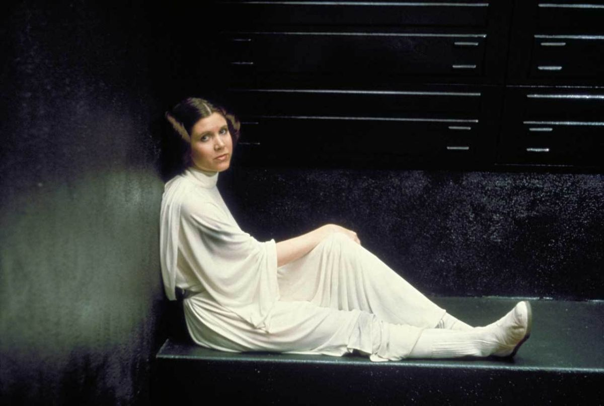 Carrie Fisher: A Rebel. A Princess. A Hero.