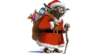 Deliver presents, he must.