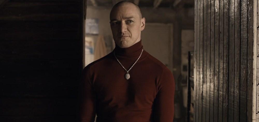 James McAvoy as Kevin Wendell Crumb, aka Patricia.