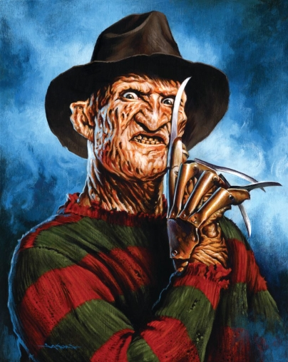 A Nightmare on Elm Street (1984).